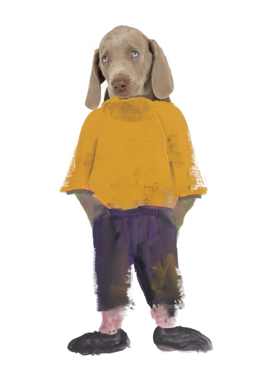 William Wegman talks puppies, posing and kids' book 'Flo