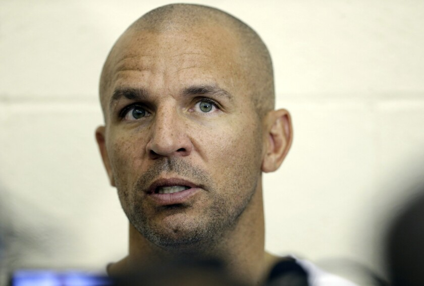 New Nets Coach Jason Kidd suspended after pleading guilty to DWI