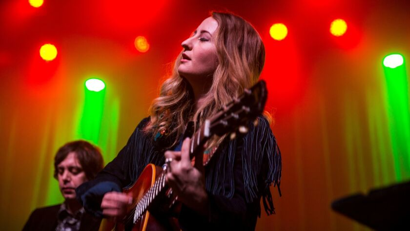 Margo Price at the Fonda Theatre.