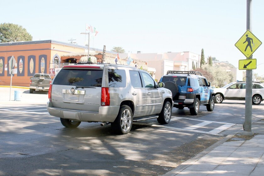 La Jollans are petitioning for a blinking, lighted crosswalk on La Jolla Boulevard at Westbourne Street, near a 7-Eleven.