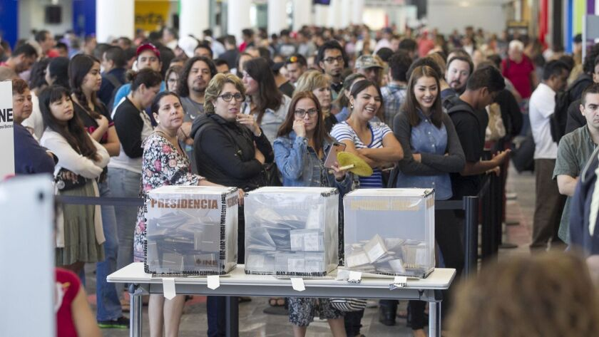 Mexican elections in Tijuana