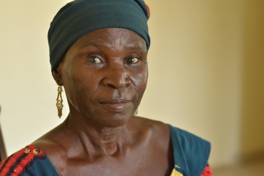 Hamatu Juwanda was forced to don a veil and renounce Christianity when violent Islamist extremists invaded her village of Barawa last year.
