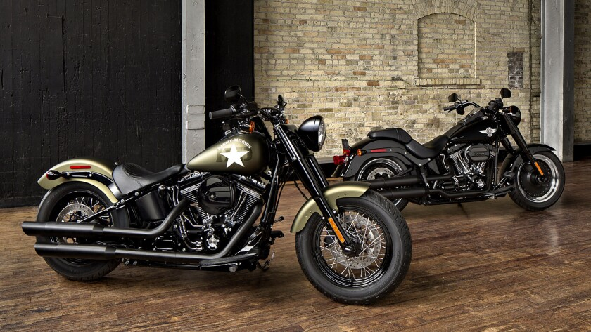 Harley-Davidson 2016 Iron 883 and Forty-Eight