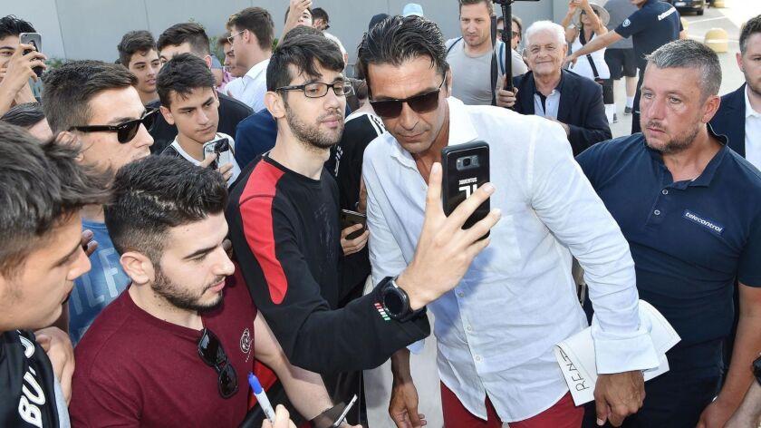 Italian goalkeeper Buffon returns to Juventus Turin, Italy - 04 Jul 2019