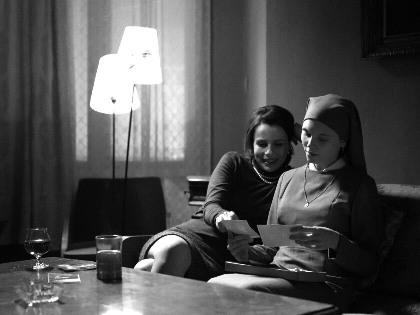 """Agata Kulesza and Agata Trzebuchowska star in """"Ida."""""""