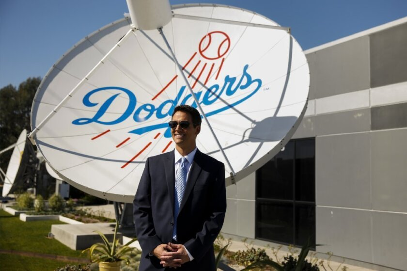 John Hartung is the primary studio anchor for the new Dodgers channel.
