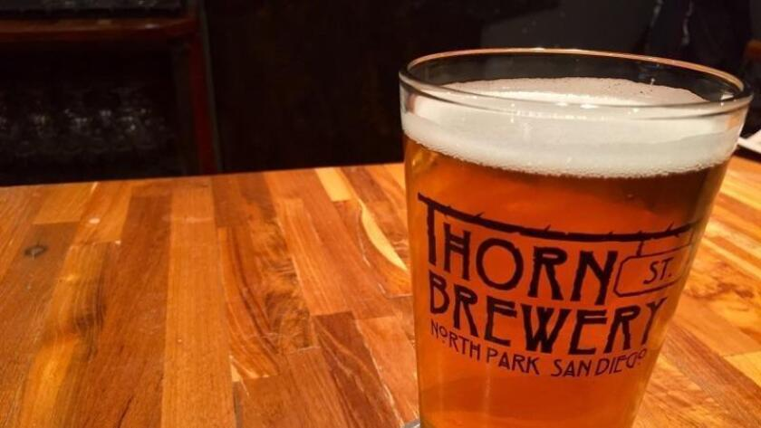 Station Pale Ale at Thorn St. Brewing (Liz Bowen)