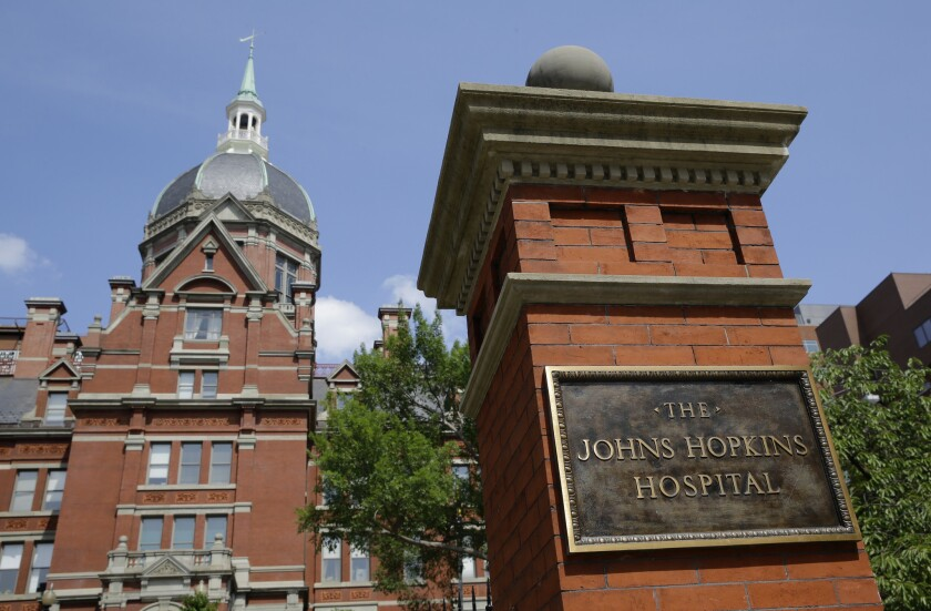 A gynecologist at Johns Hopkins Hospital in Baltimore secretly photographed patients, a class-action suit alleges.