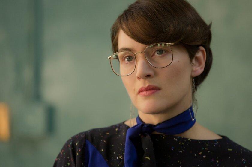 Kate Winslet in a scene from 'Steve Jobs.'