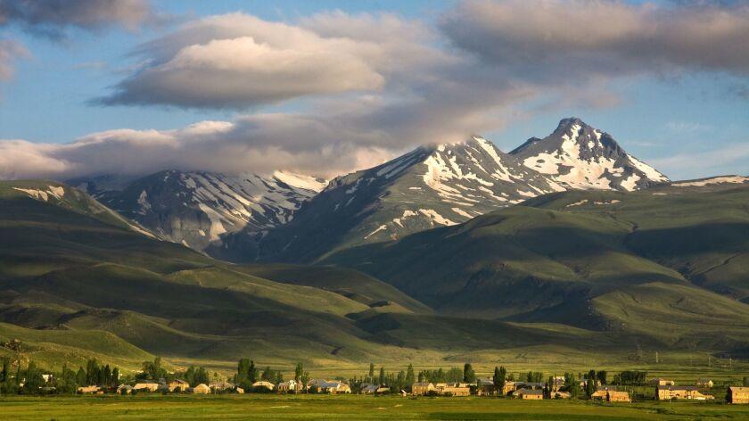 Mt. Aragats, Armenia