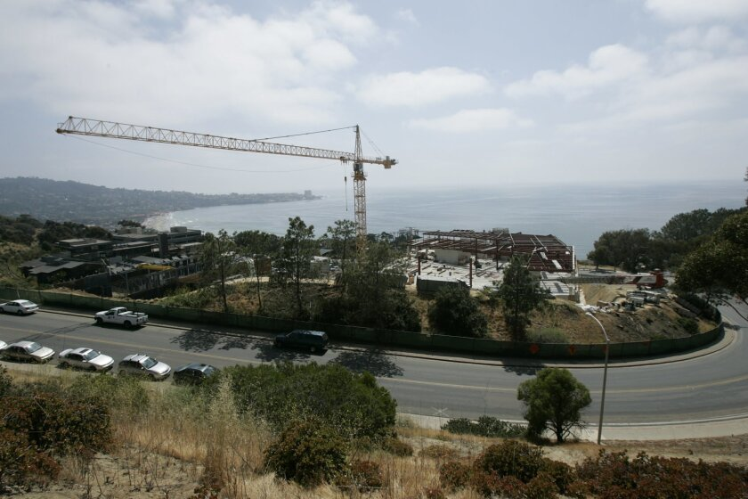 The National Marine Fisheries Service is building a major new lab on the campus of the Scripps Institution of Oceanography in La Jolla.