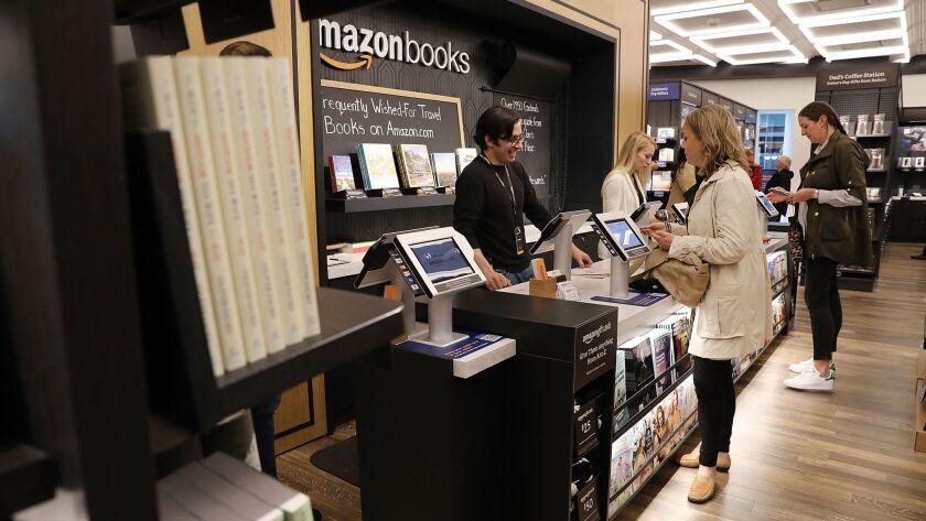 Amazon Opens Bookstore In New York City