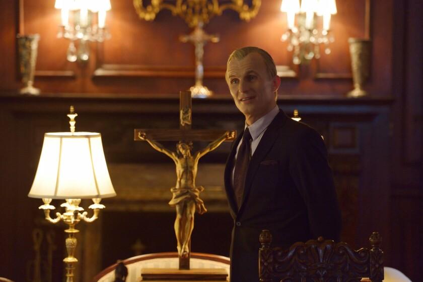 """Thomas Eichhorst (Richard Sammel) demands the Occido Lumen in """"The Strain"""" episode """"Intruders."""""""