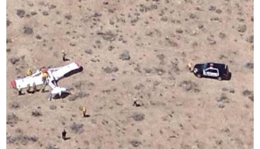 One dead after small plane crashes near glider school - Los