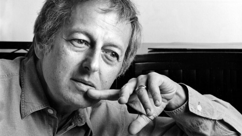 LOS ANGELES - NOV. 25, 1986 - L.A. Philharmonic musical director Andre Previn, photographed in his o