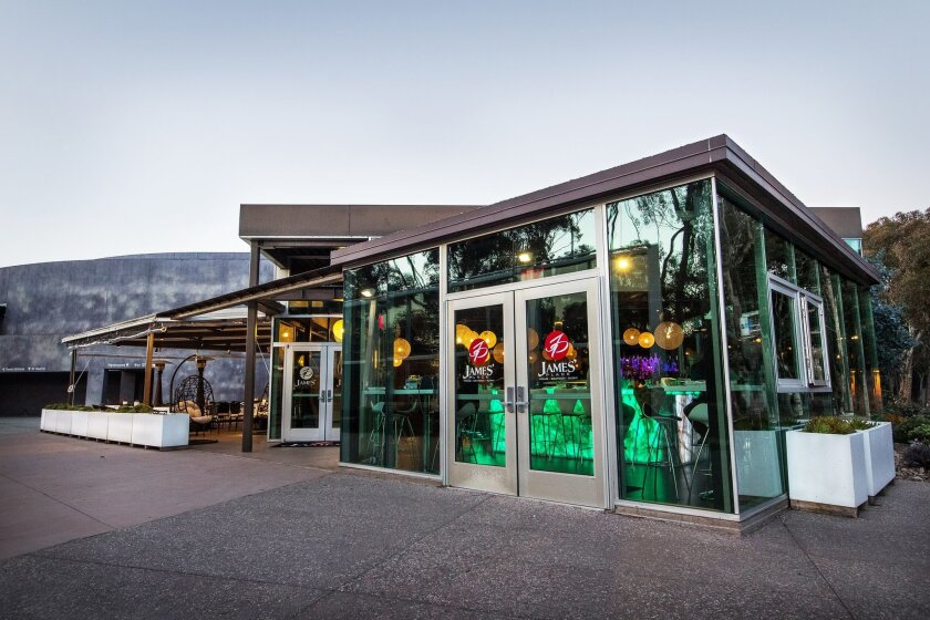 James' Place, adjacent La Jolla Playhouse on the UC San Diego campus, features an array of sushi, steak and Asian-fusion dishes.  Courtesy