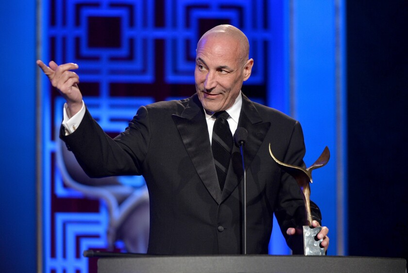 Sam Simon at the Writers Guild Awards in Los Angeles on Feb. 1, 2014.