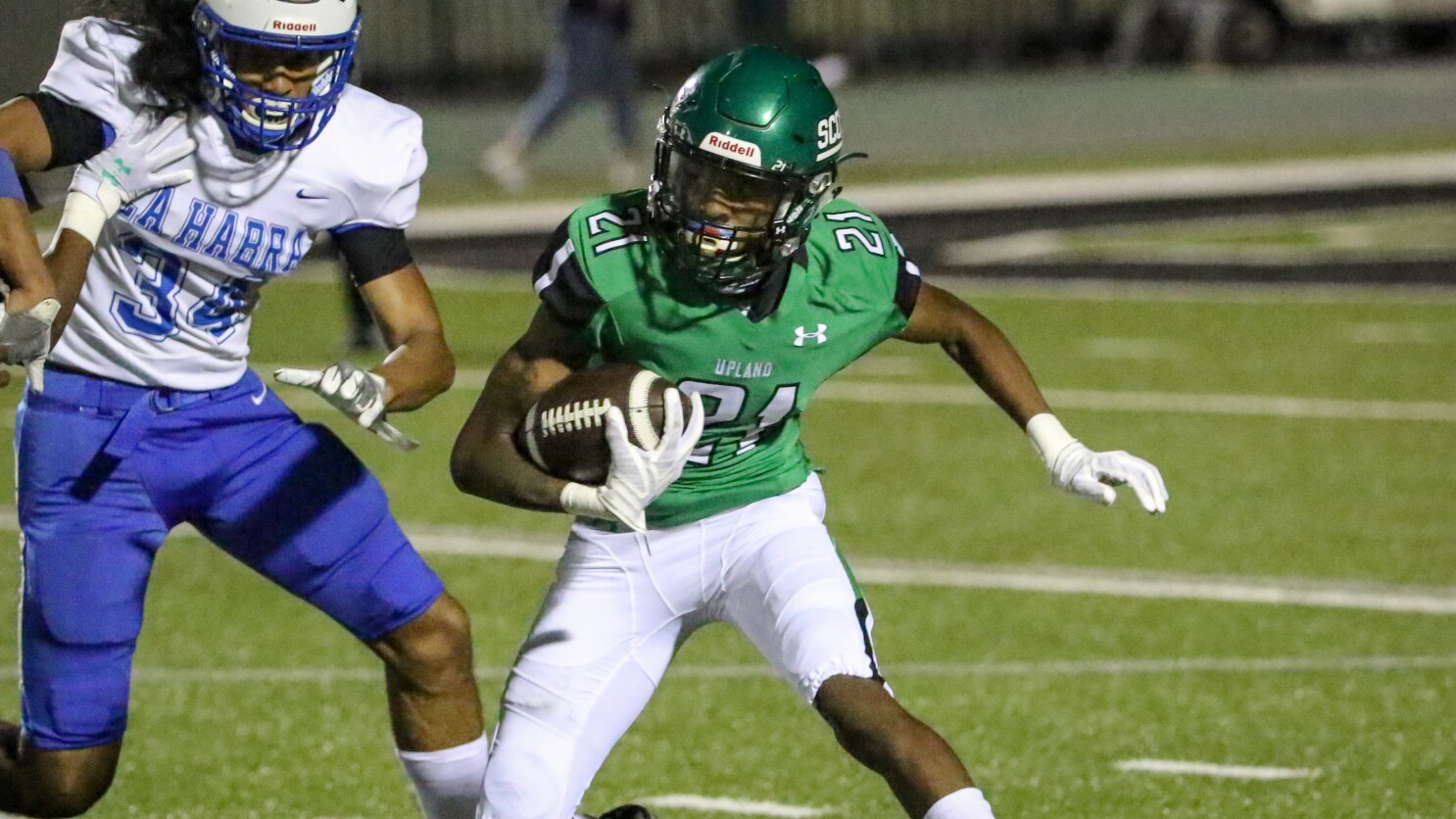 Upland's DonJ'rael Brooks makes up for lost time with recruiters