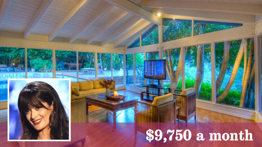 Actress-director-producer Salma Hayek is looking for a long-term tenant for a house she owns in Hollywood Hills West.