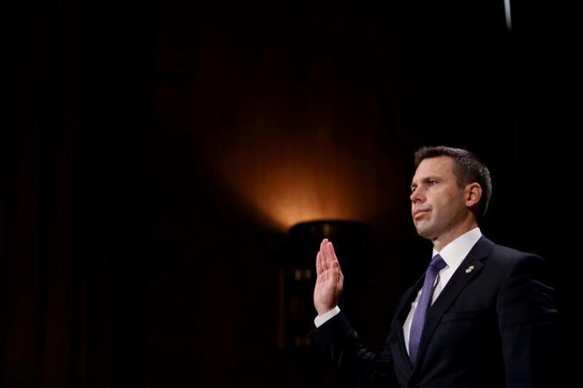 File photo showing US Customs and Border Protection commissioner Kevin McAleenan. EFE/File