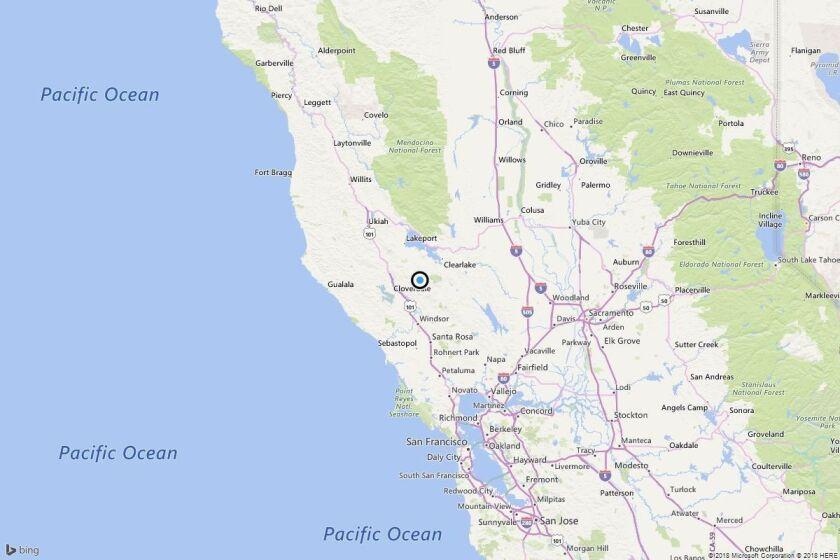 Earthquake: 3.4 quake strikes near Caldwell Pines, Calif.