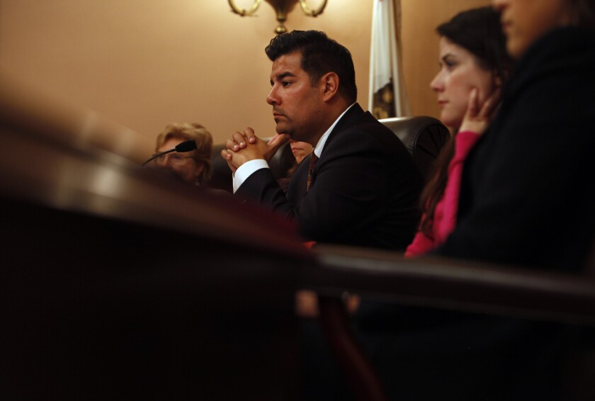 """""""California can be the national laboratory for our country,"""" State Sen. Ricardo Lara says."""