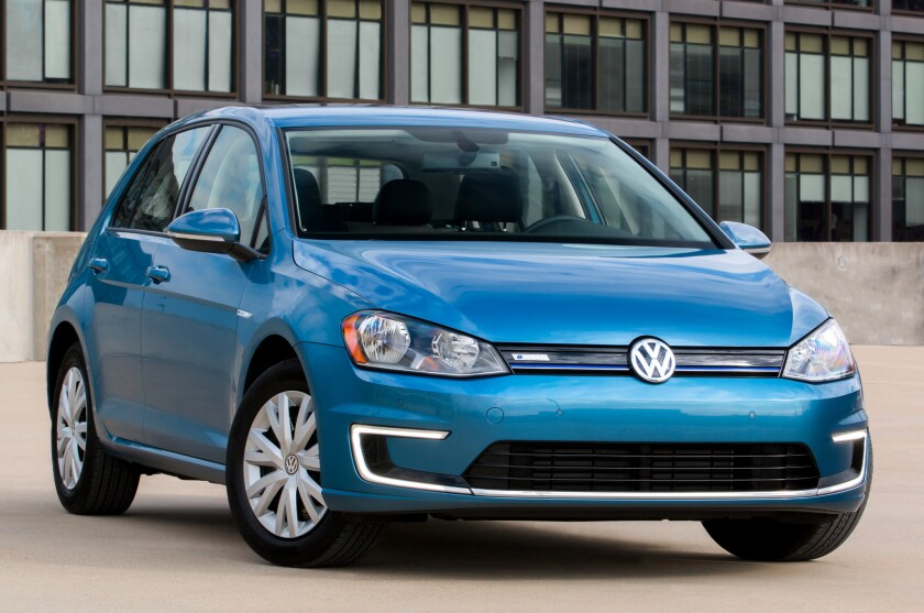 VW e-Golf Limited Edition
