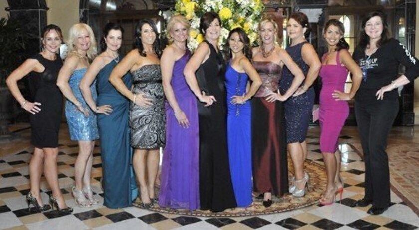 The gala committee: Tracy Spiegel, Gina Jordan, Sandra den Uijl, Roni McGuire, Michele Stephens, Shaunna Kahn, Jenn Phillips, Leslie DeGoler, Judy Ohrn Hicks, Pooneh Hamzei, Jean Rudman