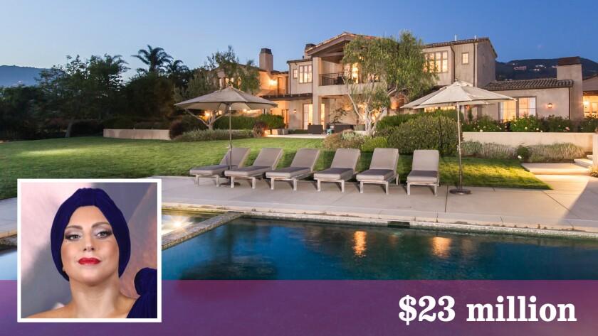 Lady Gaga has bought a Malibu mansion for $23 million.