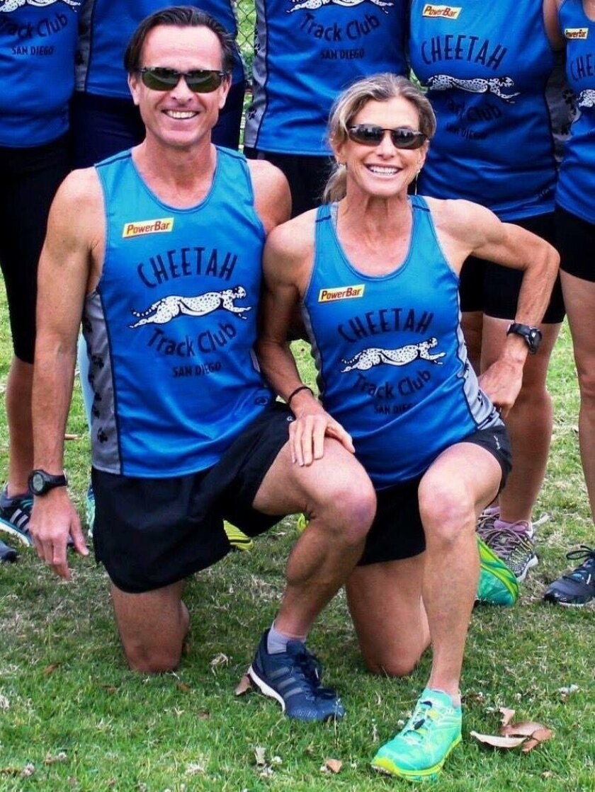 La Jollans James and Cheryl Sheremeta created Cheetah Charity Runners (CCR) to raise funds for the Emilio Nares Foundation in June 2015.