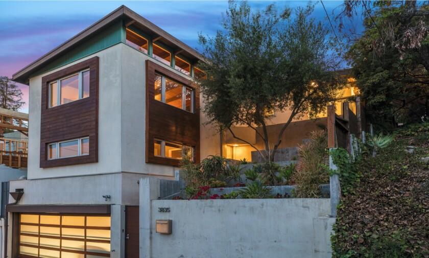 Bryan Bertino's Los Feliz Midcentury   Hot Property