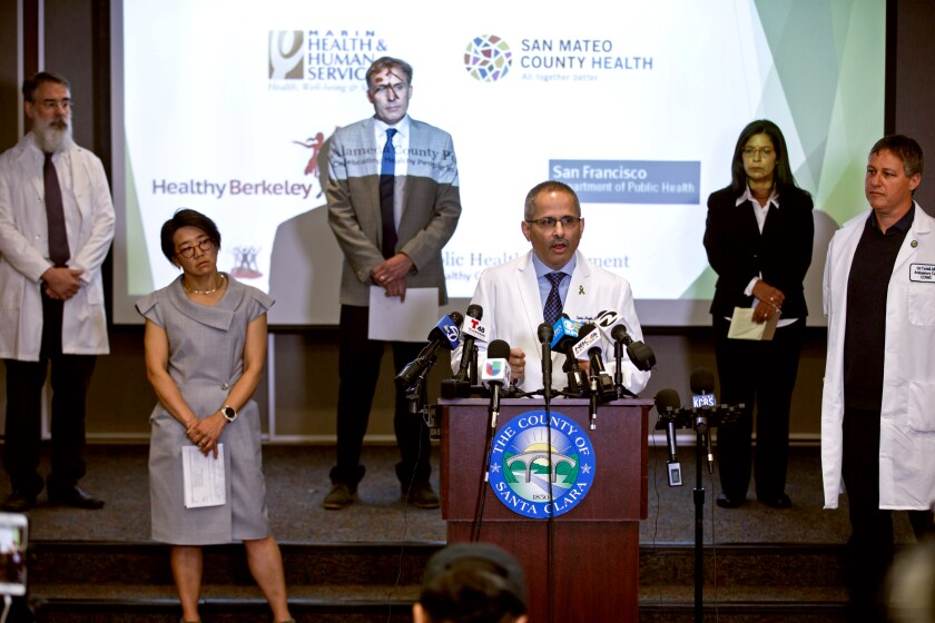 News conference with Northern California public health officers