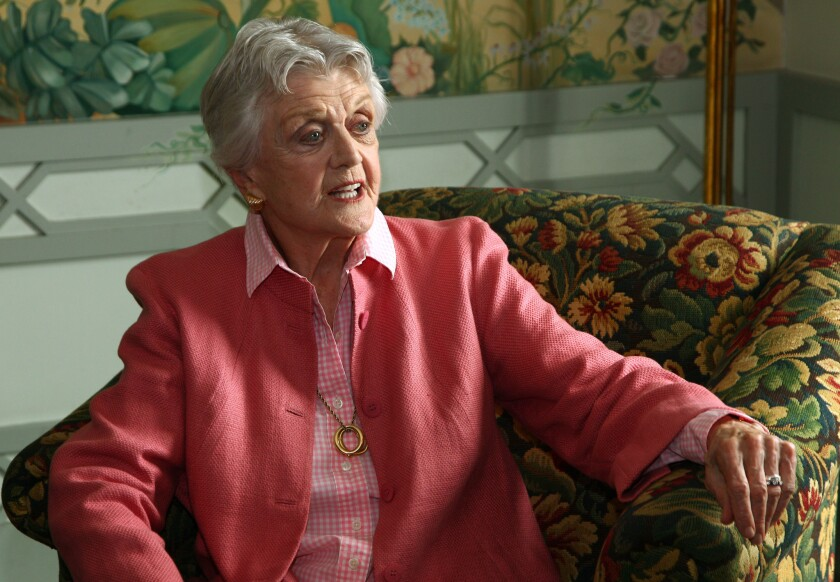Angela Lansbury has been recognized by Britain's Queen Elizabeth II with the Order of the British Empire.