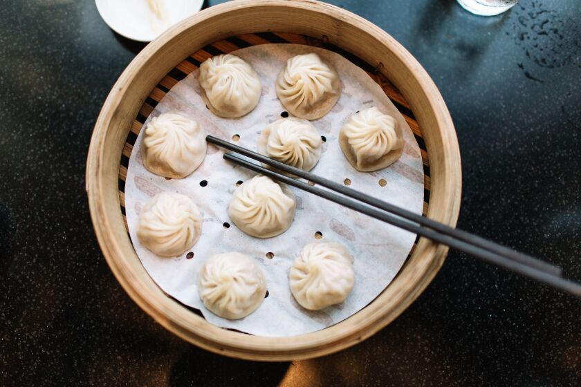 Din Tai Fung's absolutely addictive Kurobuta pork Xiao Long Bao are reason enough to go the mall.