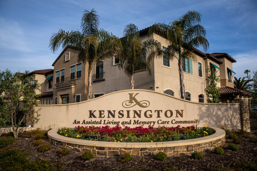 The Kensington, an assisted living residence in Redondo Beach