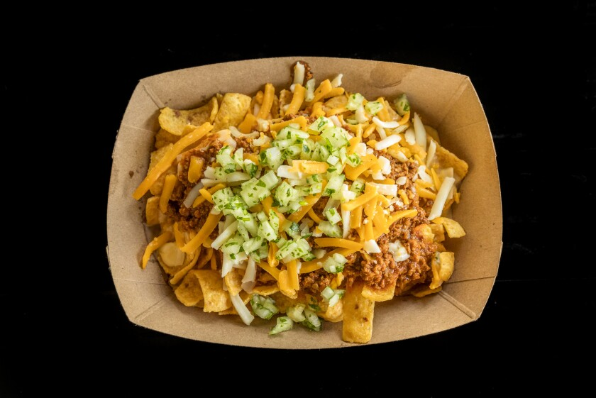 Frito pie from Slab Barbecue