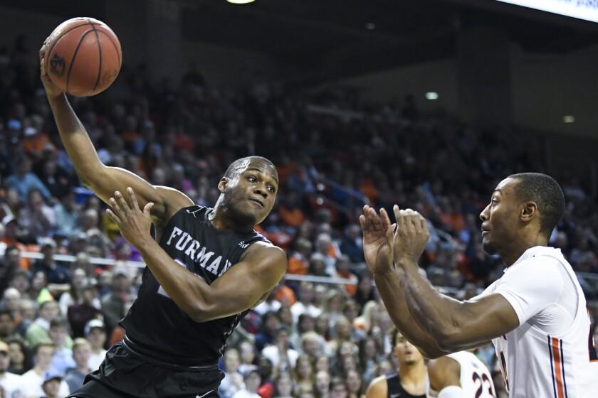 Furman Auburn Basketball