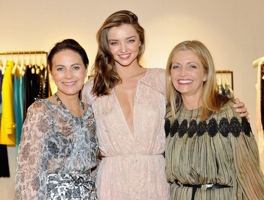 Opening of the Zimmermann Melrose Place store