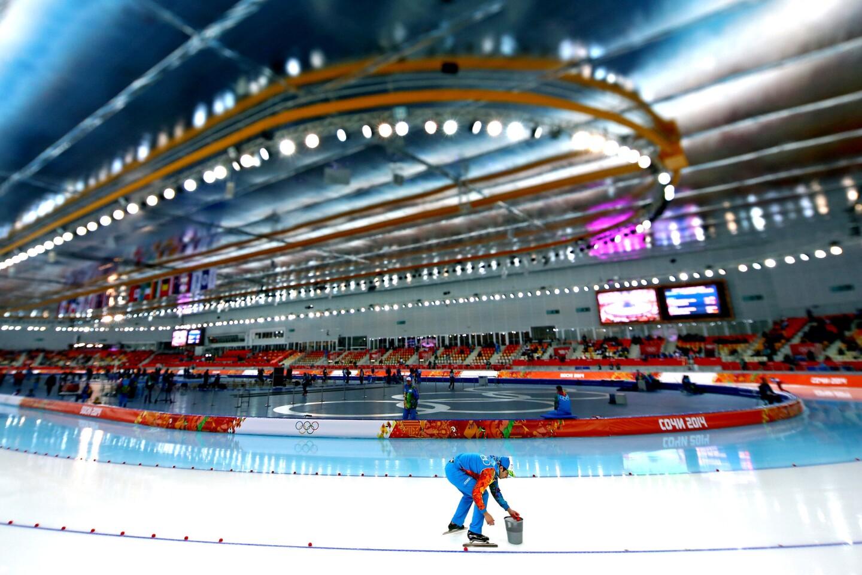 Sochi ice