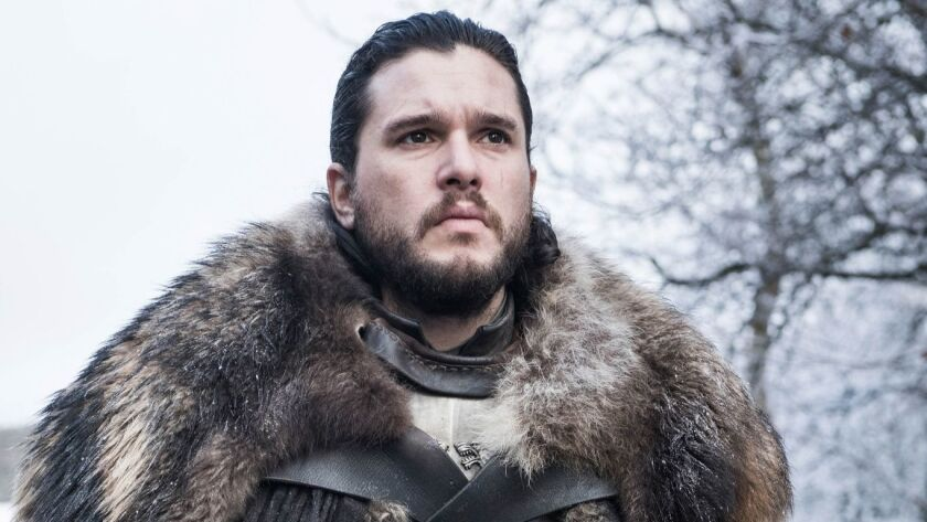 "Jon Snow (Kit Harington) learns the truth of his past in the Season 8 opener of ""Game of Thrones."""