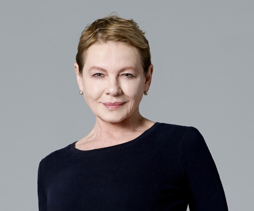 Actress Dianne Wiest stars in the Yale Repertory Theatre production of Samuel Beckett?s ?Happy Days