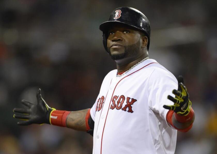 David Ortiz ya está rehabilitándose en su casa de Boston