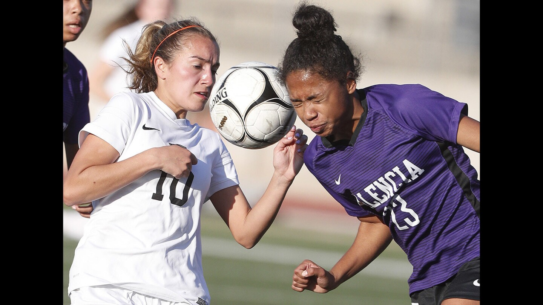 Photo Gallery: FSHA vs. Valencia in first round CIF Div. II girls' soccer