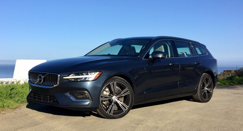 The V60 T6 with AWD starts at $44,395, including the freight charge from Gothenburg, Sweden. The Inscription tester was $49,395 with three options.