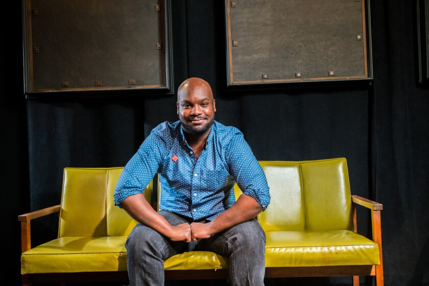 Playwright Ike Holter.