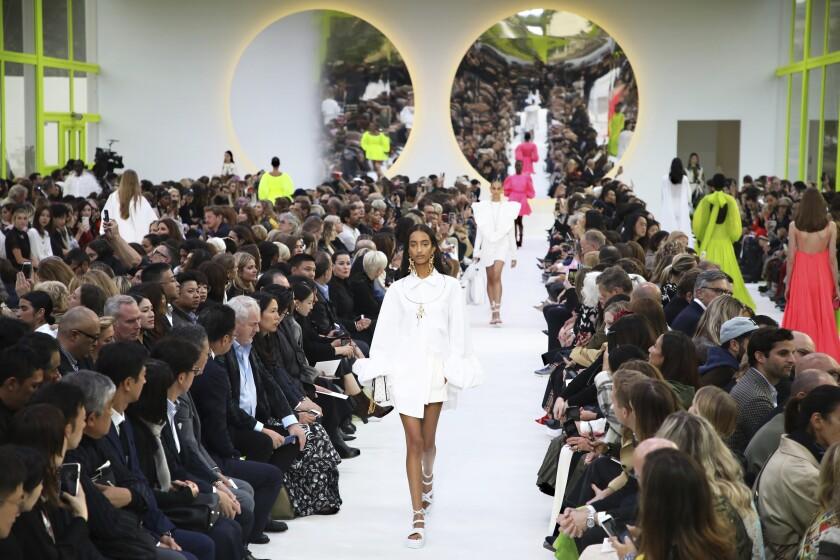 APTOPIX Paris Fashion S/S 2020 Valentino