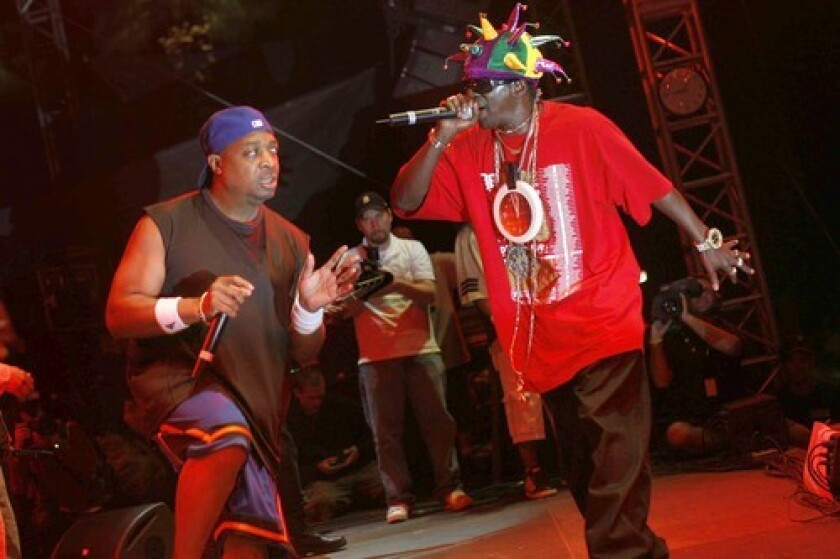 Chuck D, left, and Flavor Flav apparently never parted ways.