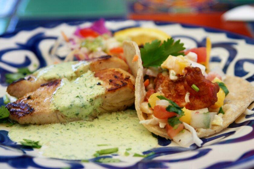 At Taste of Old Town, Casa Guadalajara will serve diners a grilled mahi mahi in cilantro sauce with jicama slaw and a crispy tropical shrimp taco.