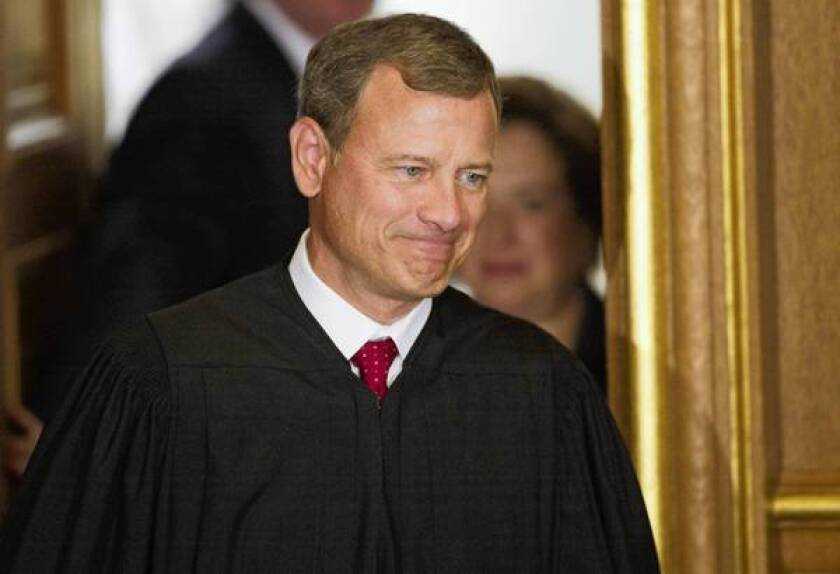 Chief Justice Roberts signals that Supreme Court remains independent