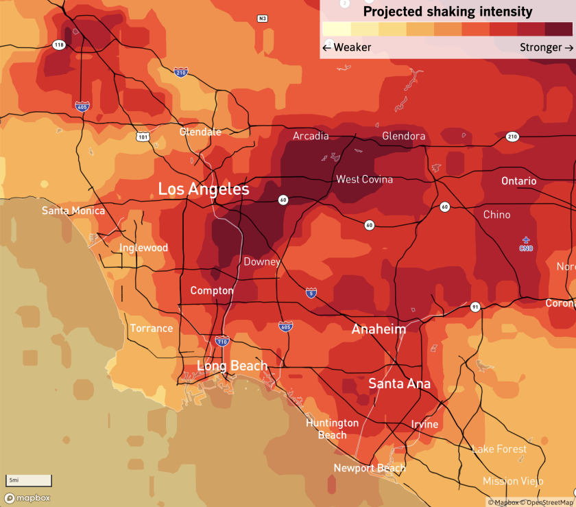Los Angeles projected shakemap.png